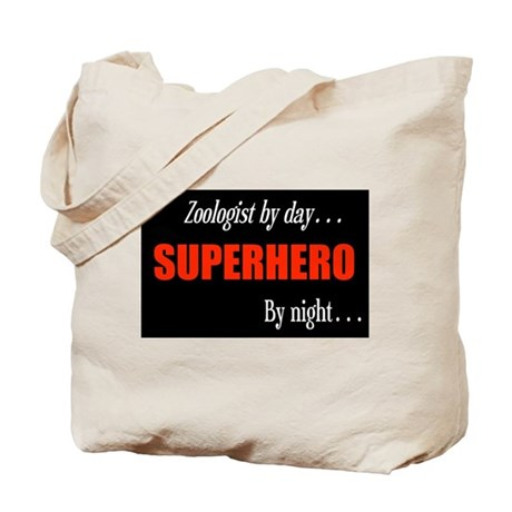 Superhero Zoologist Tote Bag