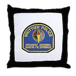 Santa Fe Springs Police Throw Pillow