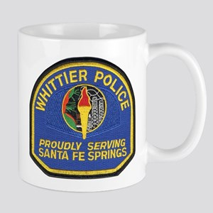 Santa Fe Springs Police Mug