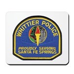 Santa Fe Springs Police Mousepad