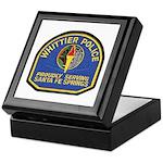 Santa Fe Springs Police Keepsake Box