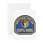 Santa Fe Springs Police Greeting Card