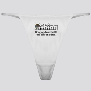 One Beer At A Time Classic Thong