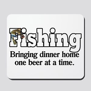One Beer At A Time Mousepad
