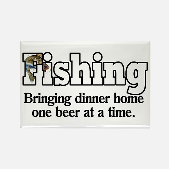 One Beer At A Time Rectangle Magnet