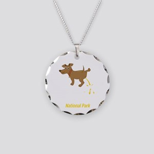 National Park Clothing Badla Necklace Circle Charm