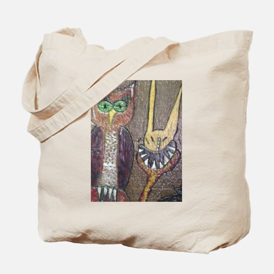 Spooky Creatures Tote Bag