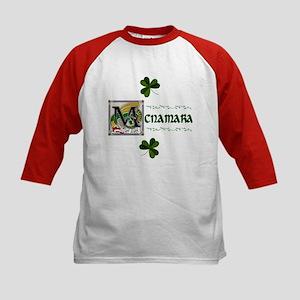 McNamara Celtic Dragon Kids Baseball Jersey