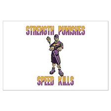 Lacrosse Defenseman SP Large Poster