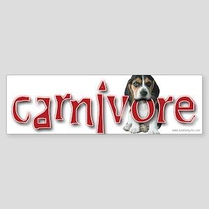 Carnivore... Bumper Sticker