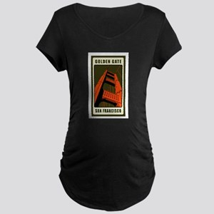 Golden Gate Maternity Dark T-Shirt