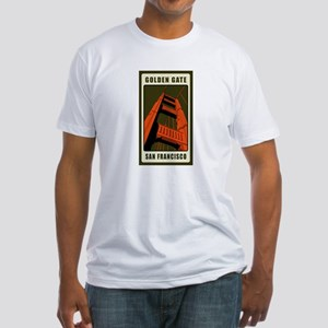 Golden Gate Fitted T-Shirt