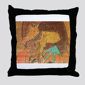 Evil Pet Throw Pillow