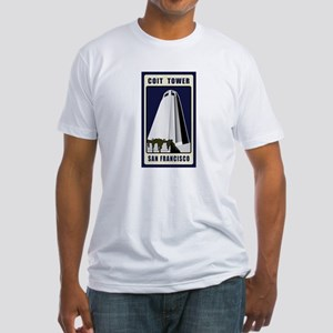 Coit Tower Fitted T-Shirt