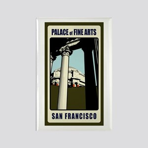 Palace of Fine Art Rectangle Magnet