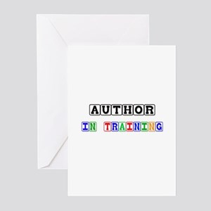 Author In Training Greeting Cards (Pk of 10)