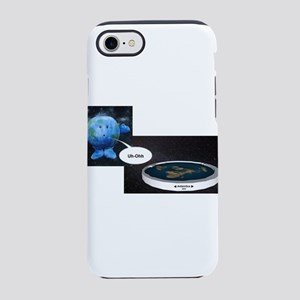 Flat Earth Today iPhone 8/7 Tough Case