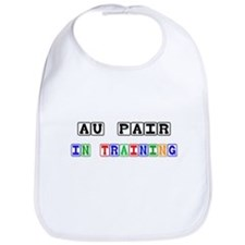 Au Pair In Training Bib
