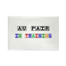 Au Pair In Training Rectangle Magnet