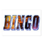 Bingo Text Postcards (Package of 8)