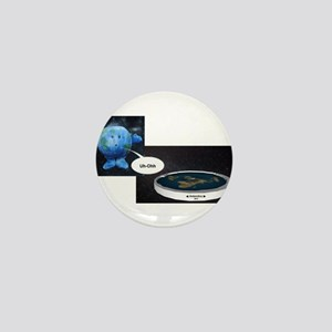 Flat Earth Today Mini Button