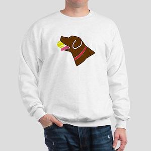 Chocolate Lab Sweatshirt