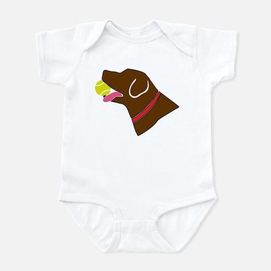 Chocolate Lab Infant Bodysuit