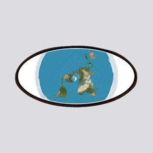Flat Earth Large Wall Clock Patch
