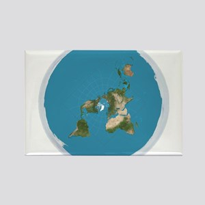 Flat Earth Large Wall Clock Magnets