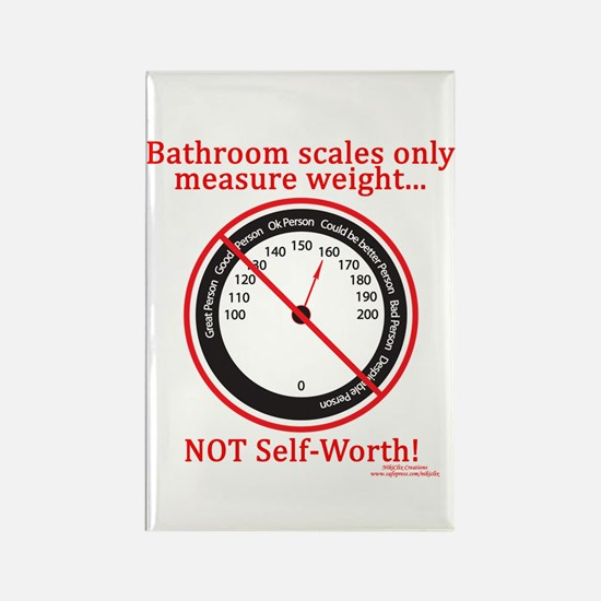 Weigh In Time Rectangle Magnet