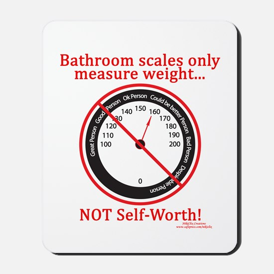 Weigh In Time Mousepad
