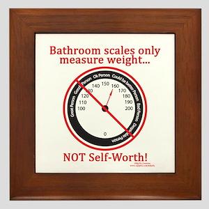 Weigh In Time Framed Tile