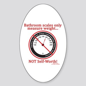 Weigh In Time Oval Sticker
