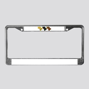 Retrivers License Plate Frame