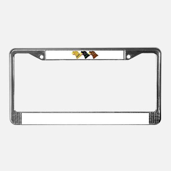 Retrivers License Plate Frame