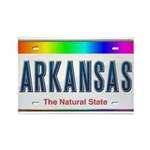 Arkansas Rectangle Magnet (100 pack)
