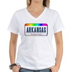 Arkansas Women's V-Neck T-Shirt