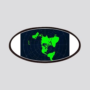 Flat Earth Map Disk Patch