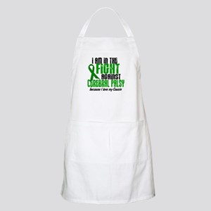 In The Fight Against CP 1 (Cousin) BBQ Apron
