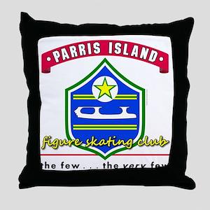Parris Island FSC Throw Pillow