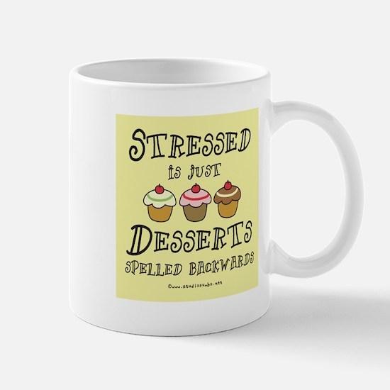 Stressed is Desserts Mug