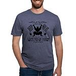 Bodybuilding Squats Ass Mens Tri-blend T-Shirt