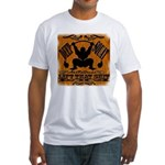 Bodybuilding Squats Ass Fitted T-Shirt