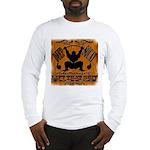 Bodybuilding Squats Ass Long Sleeve T-Shirt