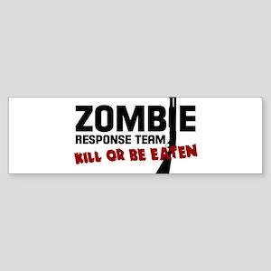 Kill The Walking Dead Zombie TShirt Bumper Sticker