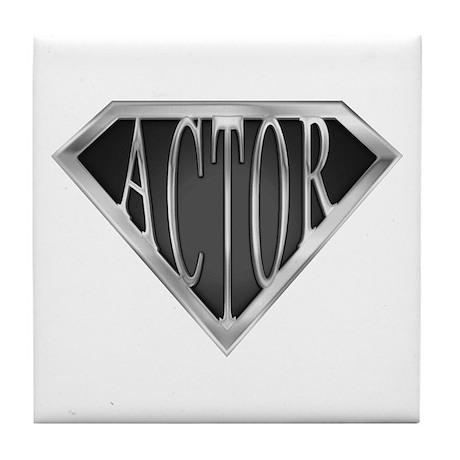 SuperActor(metal) Tile Coaster