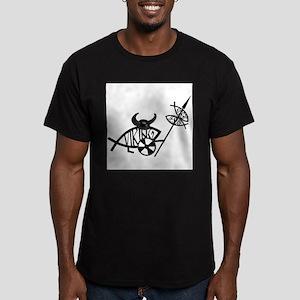 Viking Fish Ash Grey T-Shirt