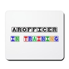 Arofficer In Training Mousepad