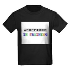 Arofficer In Training Kids Dark T-Shirt