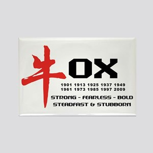 Ox Year Rectangle Magnet